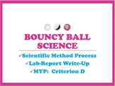 Scientific Method Lab Report Write-up Using Bouncy Balls (