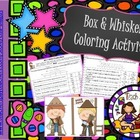 Box and Whisker Graph/Data Coloring Engaging Activity