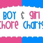 Boy and Girl Chore Charts