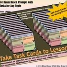 Brain Based Task Cards - Students Take Away More from Talk