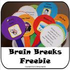 Brain Breaks - Printable games and activities for 5 minute