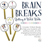 Brain Breaks for Spelling & Word Work