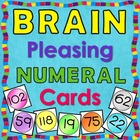 Brain Pleasing Numeral Cards Zero Through One Hundred Twenty