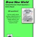 Brave New World Comprehension Check/ Study Guide Questions