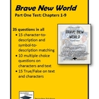 Brave New World Part One (Chapters 1-9) Test