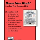 Brave New World Part Two (Chapters 10-18) Test