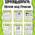 Break-dance Task Cards
