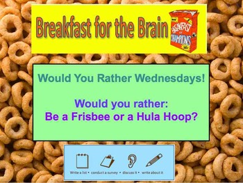 Breakfast for the Brain Bell Work 12 weeks! Would you Rath