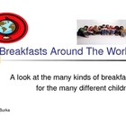 Breakfasts Around The World