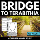Bridge to Terabithia: Complete 53 Page Novel Study