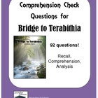 Bridge to Terabithia Study Guide Questions - Entire Novel
