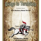 Bridge to Terabithia Vocabulary Study
