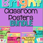 Bright Chevron Classroom Poster Set {Mega Bundle}