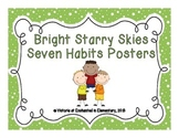 Bright Starry Skies Seven Habits Posters