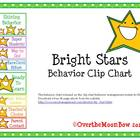 Bright Stars Behavior Clip Chart