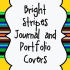 Bright Stripes Journal Cover Bundle