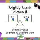 Brightly Beach Balance It! Math Center