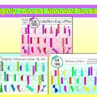 Brightly Colored Alphabet Bundle