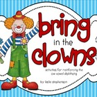 Bring in the Clowns - ow vowel diphthong activities