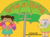 Bring on Spring!-Common Core Math and Literacy Activities