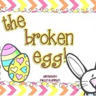 Broken Egg! {An editable Math or Literacy station FREEBIE!}