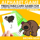 Brown Bear! Brown Bear! Memory and ABC Game