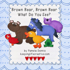 Brown Bear, Brown Bear, What Do You See? {Felt Story Set}