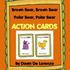 Brown Bear and Polar Bear Action Cards