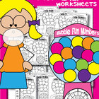 Bubble Fun Number Worksheets - Print and Play Worksheets