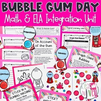 Bubble Gum Day for 3rd & 4th Graders!