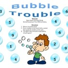 Bubble Trouble - A 2-Player Game to Identify Numbers Using