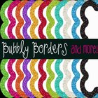 Bubbly Rainbow Glitter Frames 22 Frames Commercial Use