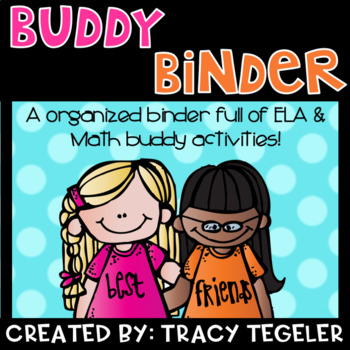 Buddy Binders {Math & ELA}