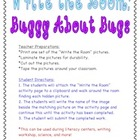 Buggy About Bugs! Write the Room