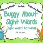 Bugs - Sight Word Activities
