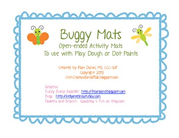 Buggy Open-Ended Activity Mats