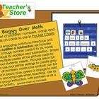 Buggy Over Math Pocket Chart Set