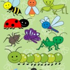 Bugs Clip Art Collection - Personal and Commercial Use
