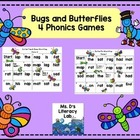 Bugs and Butterflies  Word Hops-Short Vowels