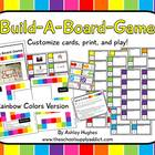 Build-A-Board-Game: Rainbow Colors
