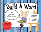 Build-A-Word Sorting Strips