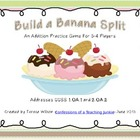 Build a Banana Split Addition Practice Game