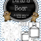 Build a Bear Number Game *FREEBIE*