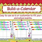 Build a Calendar: Customized  Activboard Calendar - Update