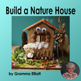 Build a Spooky House (A Nature House Project with Writing Paper)