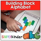 Building Block Alphabet Building { Simply Kinder }