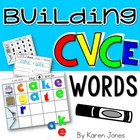 Building CVCe Words {Magnetic Letter Center}