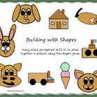 Building Pictures with Shapes for visual perception