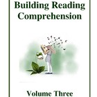 Building Reading Comprehension - Volume Three, Activities