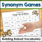 Building Robust Vocabulary with Synonym Games: It's All th